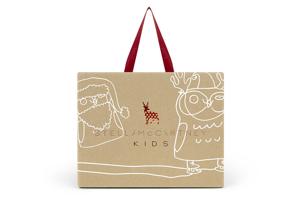 Stella McCartney Kids Christmas Packaging Clare Walsh